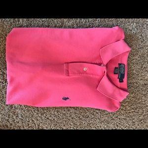 Hot Pink Polo Shirt